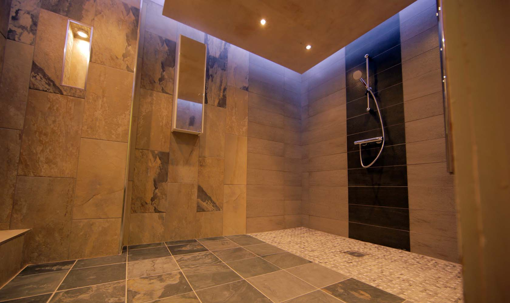 Shower Room. Flixton Manor Shower Room